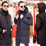 Пальто мужское на синтепоне новинка