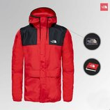 Мужская куртка ветровка The North Face 1985 Seasonal Mountain Jacket - RED/BLACK