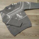 Теплый свитер рост 98
