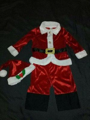 Карнавальный костюм Санта Клаус на 1-2года.