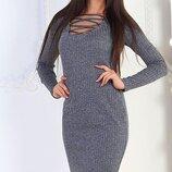 Платье люрексовая нить,трикотаж 42-46