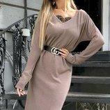 Платье ангора,кружево 42-44,46-48