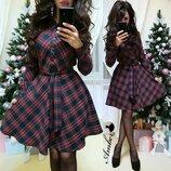Трикотажгое платье,2 цвета