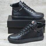 Мужские кожаные ботинки Тн 4