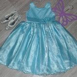 Праздничное нарядное платье 8-10л