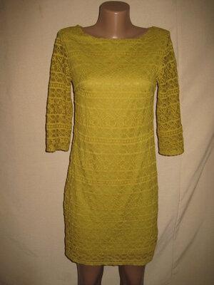 кружевное платье Warehouse р-р10