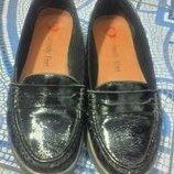 Туфли-Мокасины Кожа 37 р-р 24 см