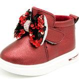 Демисезонные ботинки для девочки GFB Размеры 22-26
