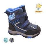 Супер классные сноубутсы термоботинки Том.м для мальчика р. 27-32