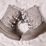 Сапоги ботинки термо UK8, стелька 16,7 см.
