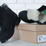 Мужские зимние ботинки . Искусственный мех.