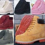 Женские зимние ботинки . Натуральный мех.