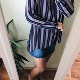 Удлинённая блуза Primark M-L