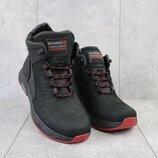 Мужские зимние ботинки из натуральной кожи