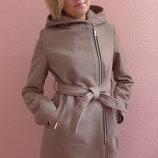 Пальто, рост 128, 134, 140, 146, 152 см, арт.ML-014/VD-Косушка-капюшон-G