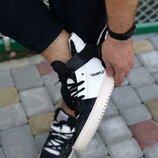 Шикарные черно-белые мужские кроссовки nike virgil abloh x off-white