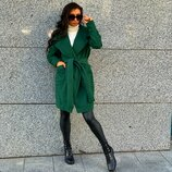 Пальто на запах 4 цвета 42-44 размеры