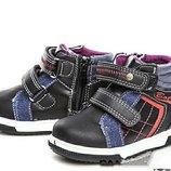 Демисезонные ботинки на мальчика Свт.т осенние для хлопчика осінні