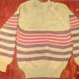 Джемпер,свитер,кофта Пог 37 см, б/у