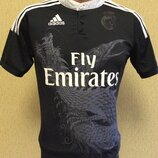 Футбольная футболка ADIDAS REAL MADRID дизайн YOHJI YAMAMOTO оригинал р XS-S