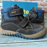 Демисезонные замшевые сапоги ботинки richter непромокаемые