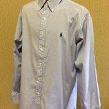 Рубашка POLO RALPH LAUREN оригинал размер XL ворот 16 1/2