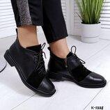 код к-1338 деми Оригинальные ботиночки - Olive материал верх-натуральная кожа в комбинации с натура