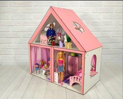 Кукольный домик для барби и кукол до 33см.