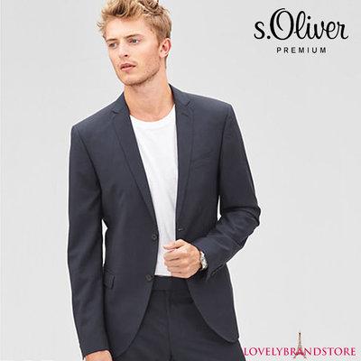 s.Oliver premium шерстяной пиджак 100% меринос мужской классический жакет