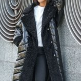 Мега крутое зимнее пальто 44 46 48 50 размеры