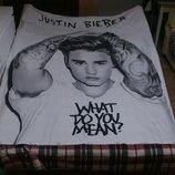 Постельное белье Justin Bieber Джастин Бибер наволочка пододеяльник 160x200 см