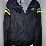 Мужская куртка NIKE оригиал 2в1 размер S-М демисезон брендовая крутая