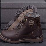 Мужские кожаные ботинки ZG 137 1 кор