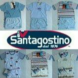 Бесшовное белье для мальчиков трусики и футболка на 4-5 л и 6-7 л Santagostino Италия