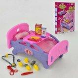 Кроватка для кукол 661-15 20 в коробке