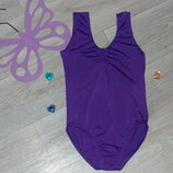 Фирменный купальник-трико для гимнастики или танцев на 10-12л