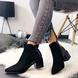 Женские стильные ботинки, ботильоны