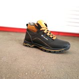Зимние кожаные мужские ботинки Columbia 40-45