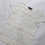 Легкая блуза в сеточку