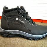 Зимние кожаные мужские ботинки Columbia 40-45 р-р