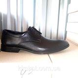 Туфли черные мужские кожаные 40 -45 р-р