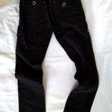 Джинсы черные на девочку р.140/slim фирменные S.Oliver штаны брюки