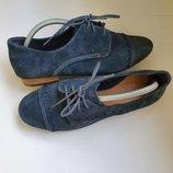 Туфли броги Clarks р.39 стелька 25,8 см.