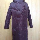 Пальто куртка зимняя, от производителя Цвета, Глубокий капюшон и большой воротник обеспечивает полн