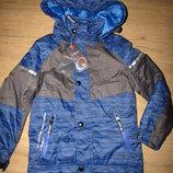 Акция до 25.10 Деми куртка осень весна 4-12, качество, венгрия