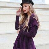 Красивое платье с люрексом 42 - 44 две расцветки