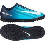 Кроссовки сороканожки фирменные Nike Mercurial р.31-19.5см