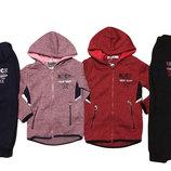 Утепленный спортивный костюм для девочек 98-128