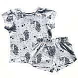 Летняя пижама для девочки Единорог George