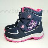 Зимние термо ботинки B&G р. 30 на меху сноубутсы